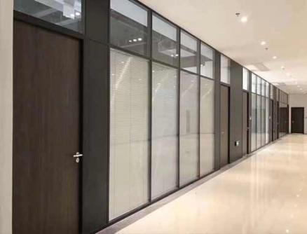 乐山双层百叶玻璃隔断墙
