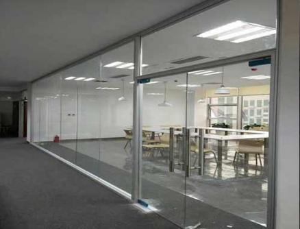 透明玻璃隔断墙