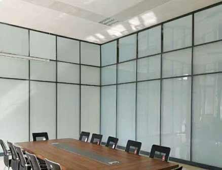 单层全砂玻璃隔断墙