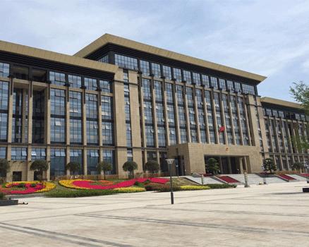 梁平县政府新办公楼